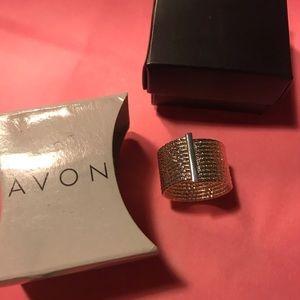 Avon - statement sparkle wrap ring